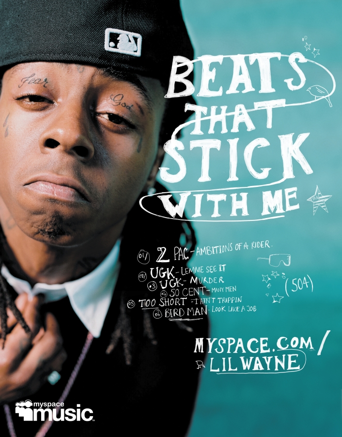 MySpace Music featuring Li'l Wayne